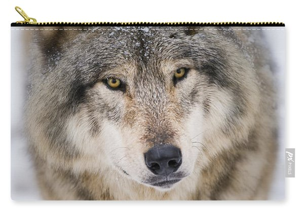 Timber Wolf Pictures 254 Carry-all Pouch