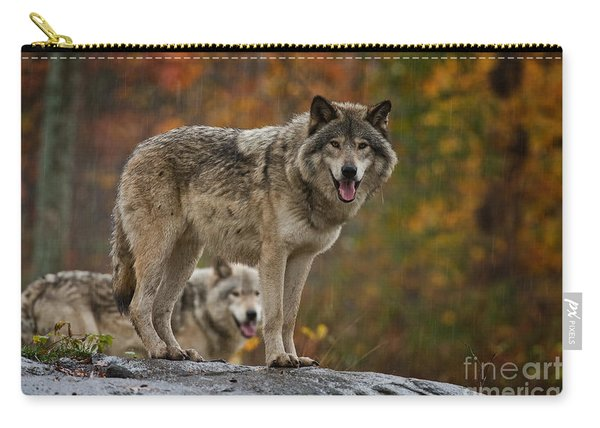 Timber Wolf Pictures 410 Carry-all Pouch