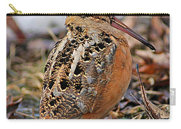 Timberdoodle The American Woodcock Carry-all Pouch