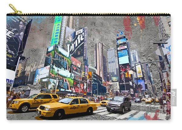 Times Square Street Creation Carry-all Pouch