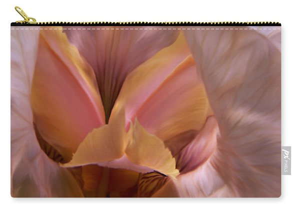 Carry-all Pouch featuring the photograph Tinkerbell Iris by Barbara St Jean