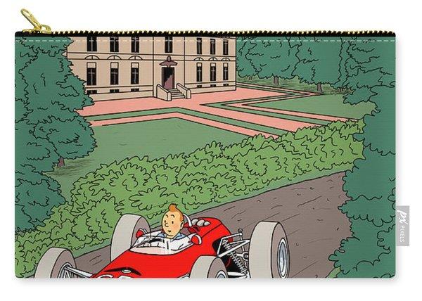 Tintin Grand Prix De Moulinsart 1965  Carry-all Pouch