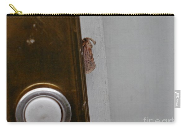 Tiny Doorbell Moth Carry-all Pouch