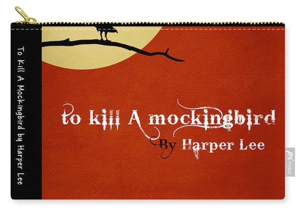 To Kill A Mockingbird Book Cover Movie Poster Art 1 Carry-all Pouch