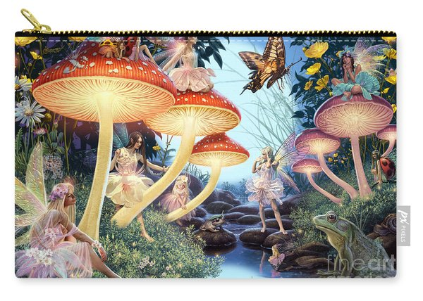 Toadstool Brook Carry-all Pouch