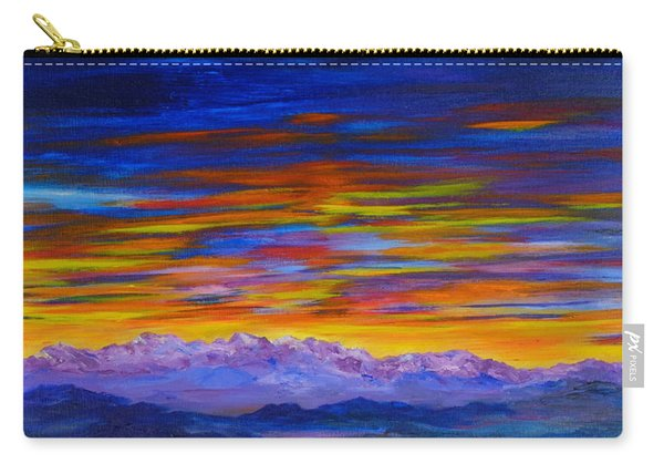 Tobacco Root Mountains Sunset Carry-all Pouch