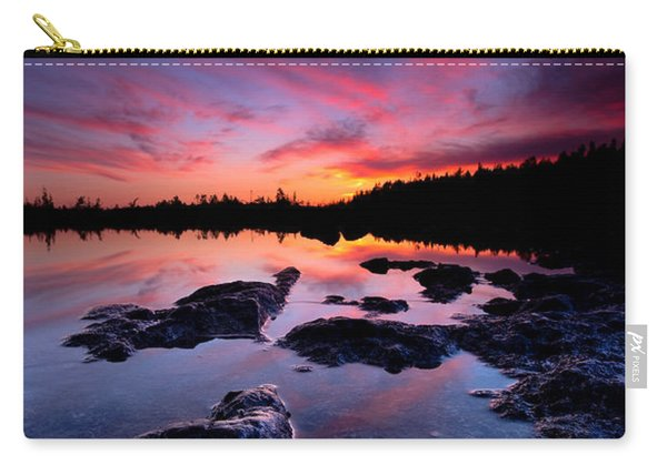 Tobermory Sunset 2 Carry-all Pouch