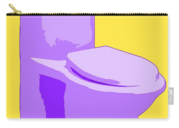 Toilette In Purple Carry-all Pouch