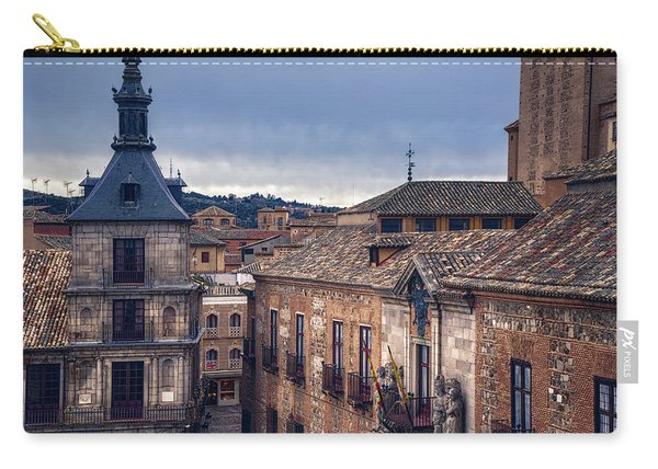 Toledo Rooftops II Carry-all Pouch