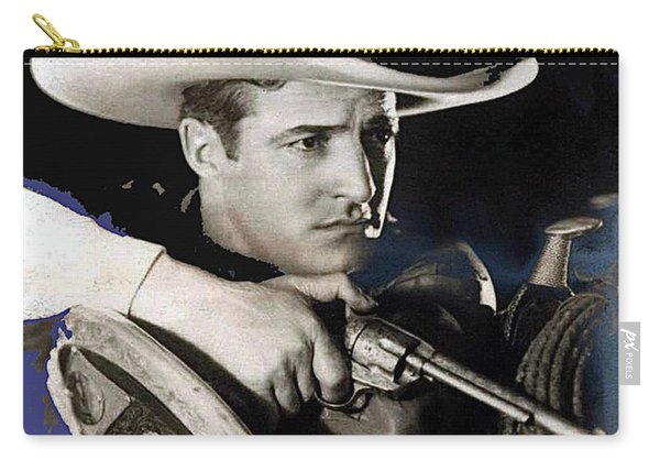 Tom Mix Portrait Melbourne Spurr Hollywood California C.1925-2013 Carry-all Pouch