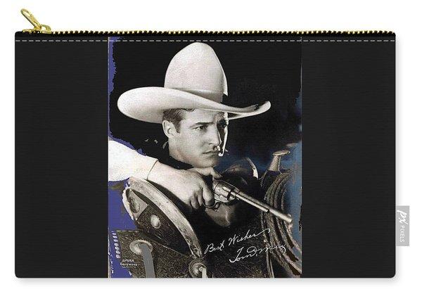 Tom Mix Portrait Melbourne Spurr Hollywood California C.1925-2013 Carry-all Pouch