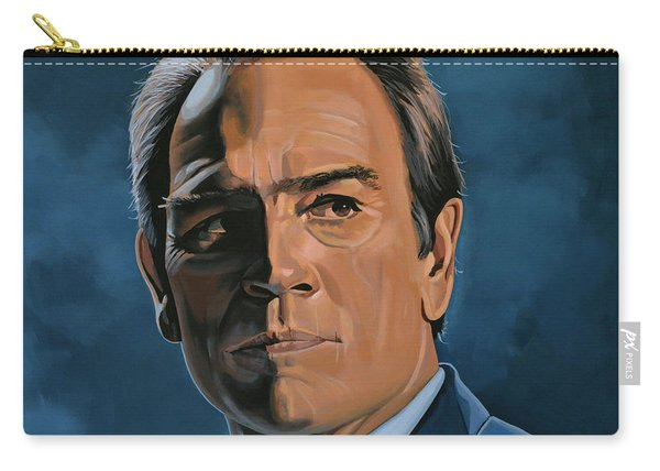 Tommy Lee Jones Carry-all Pouch