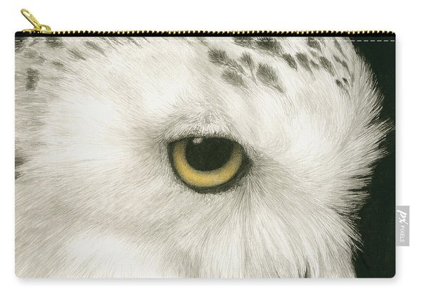 Topaz In The Snow Carry-all Pouch