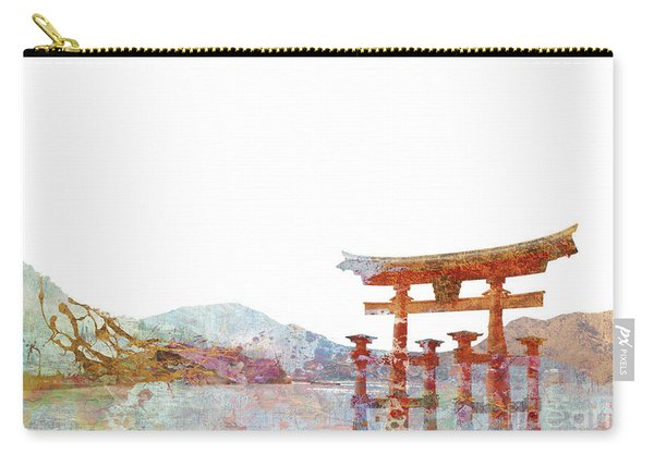 Torii Gate Colorsplash Carry-all Pouch