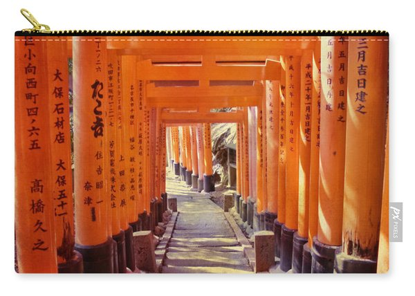 Torii Gates At The Fushimi Inari Shrine Carry-all Pouch