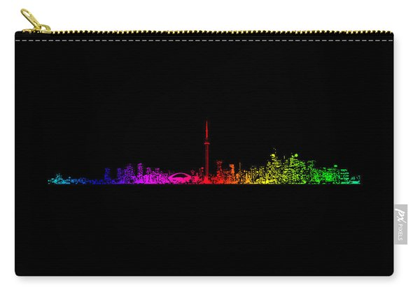 Toronto Rainbow Carry-all Pouch