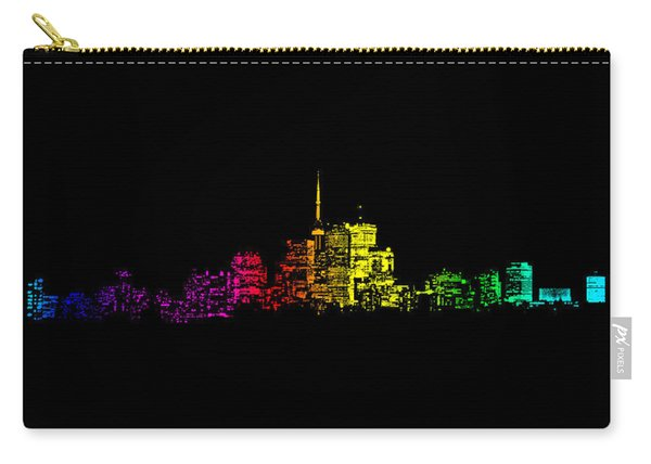 Toronto Skyline Gradient Carry-all Pouch