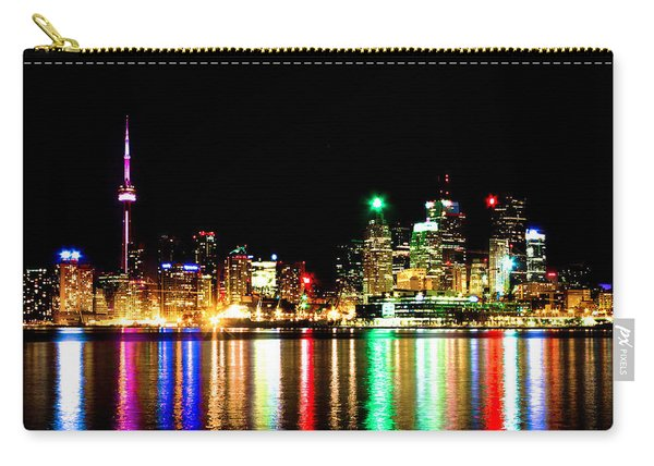 Toronto Skyline Night Carry-all Pouch
