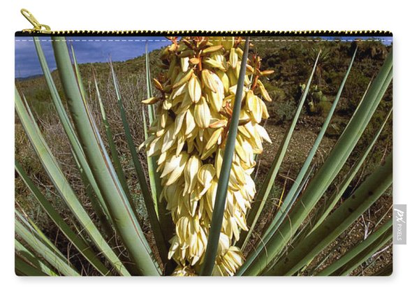 Torrey Yucca In The Chisos Mountains Carry-all Pouch