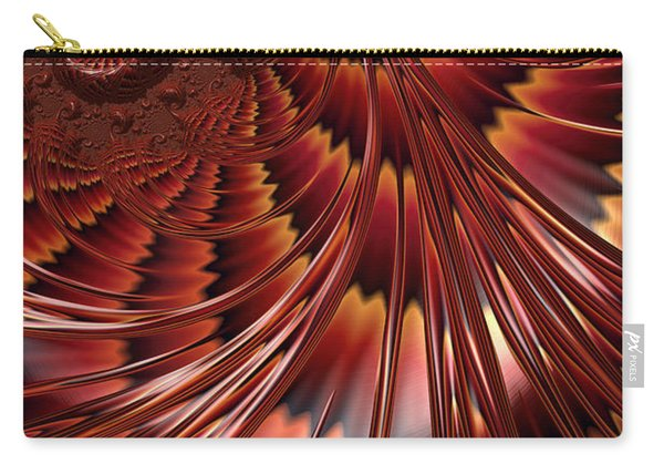 Tortoiseshell Abstract Carry-all Pouch