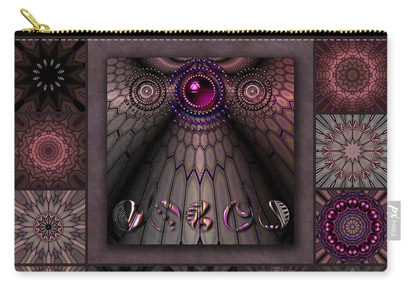 Tortured Glass Redux Carry-all Pouch