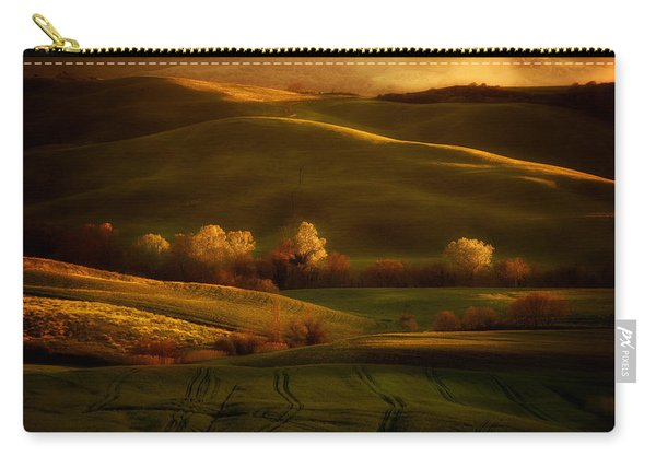 Carry-all Pouch featuring the photograph Toskany Impression by Jaroslaw Blaminsky