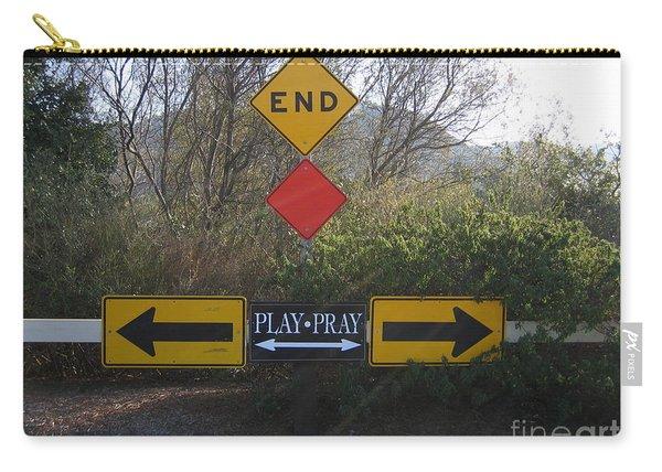 Tough Decision Carry-all Pouch
