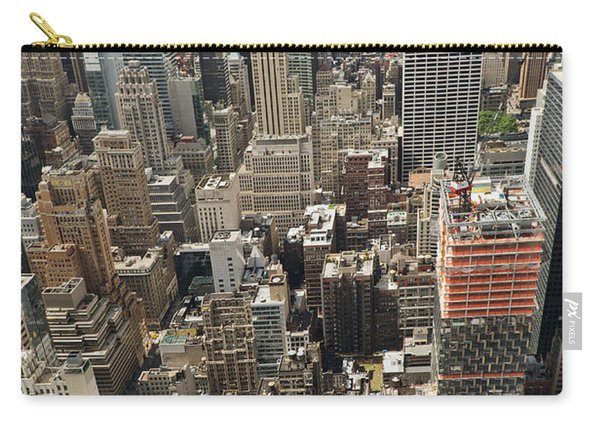 Tourists Viewing Downtown Manhattan Carry-all Pouch