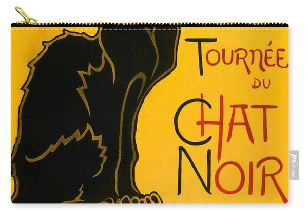 Tournee Du Chat Noir Carry-all Pouch