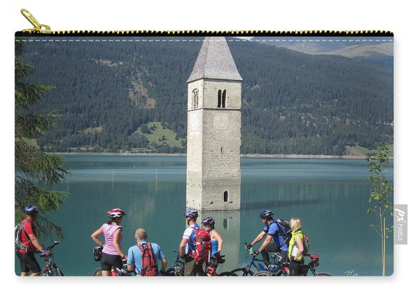 Tower In The Lake Carry-all Pouch