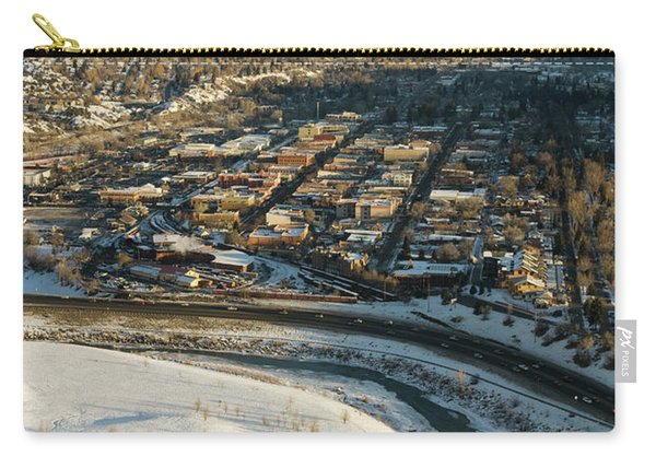 Town Of Durango In Winter, Colorado Carry-all Pouch