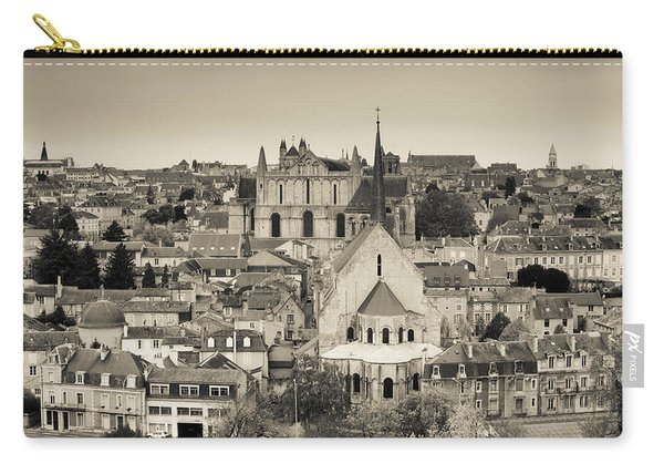 Townscape And Cathedrale St-pierre Carry-all Pouch