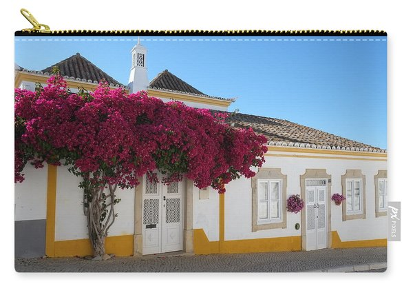 Traditional House Of Tavira. Portugal Carry-all Pouch