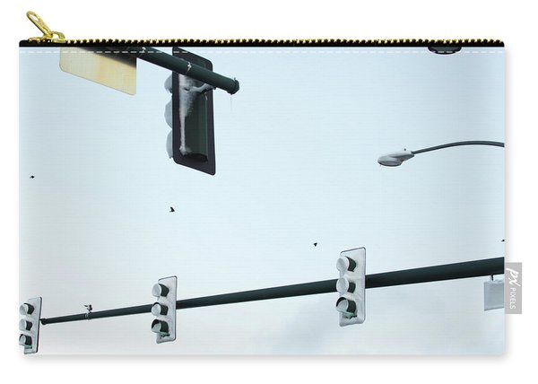 Traffic Signals And Streetlights Carry-all Pouch