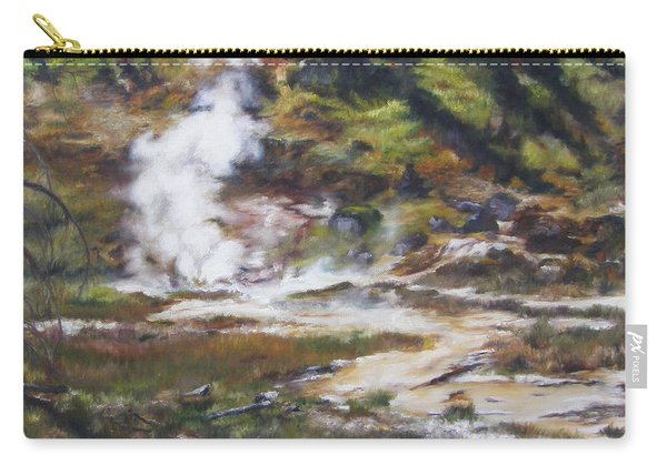 Trail To The Artists Paint Pots - Yellowstone Carry-all Pouch