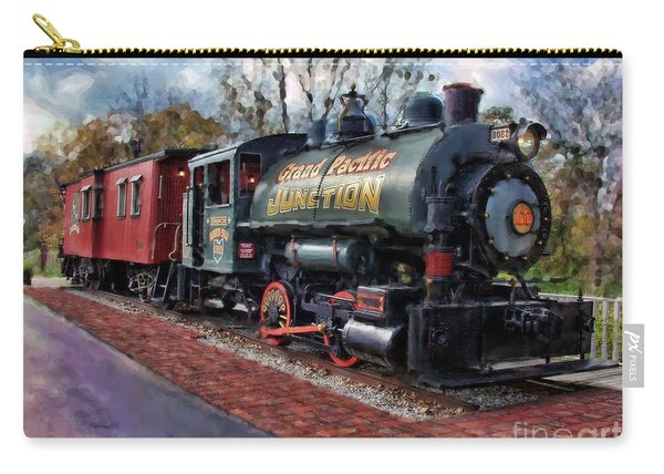 Train At Olmsted Falls - 1 Carry-all Pouch