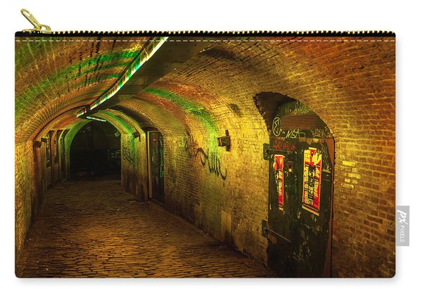 Trajectum Lumen Project. Ganzenmarkt Tunnel 1. Netherlands Carry-all Pouch