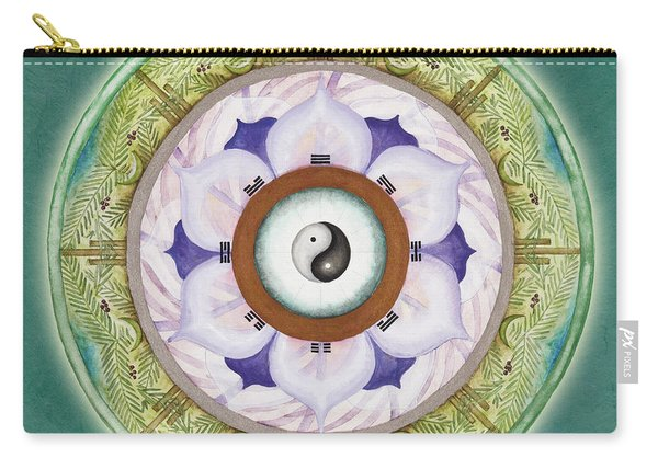 Tranquility Mandala Carry-all Pouch