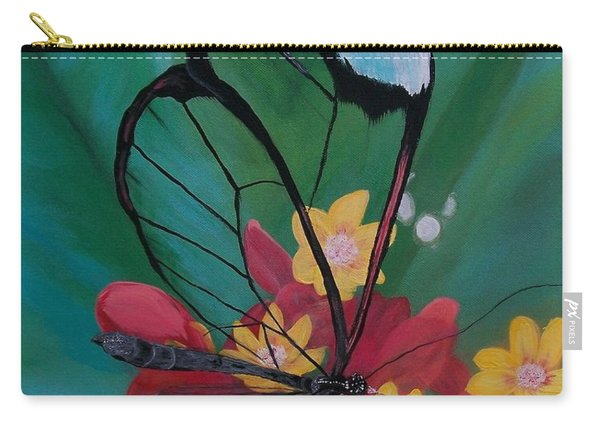 Transparent Elegance Carry-all Pouch
