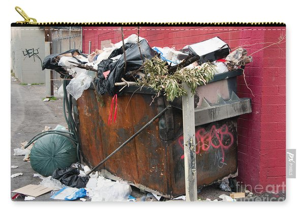 Trash Dumpster In Slums Carry-all Pouch