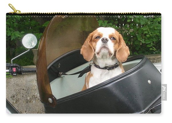 Traveling Dog Carry-all Pouch