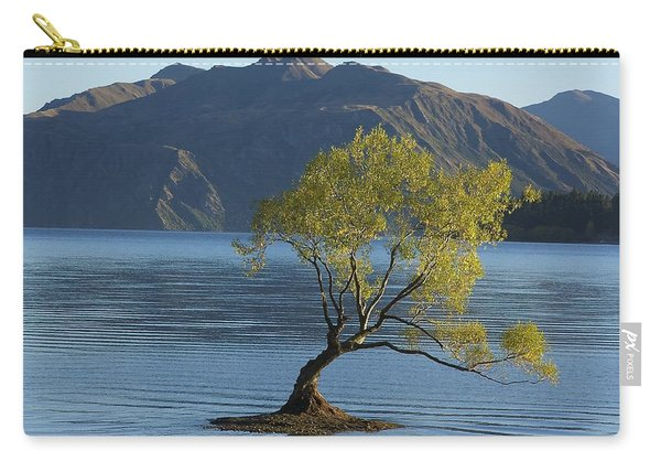 Tree In Lake Wanaka Carry-all Pouch