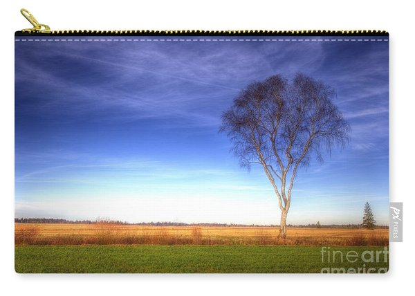 Tree In The Murnauer Moos Carry-all Pouch