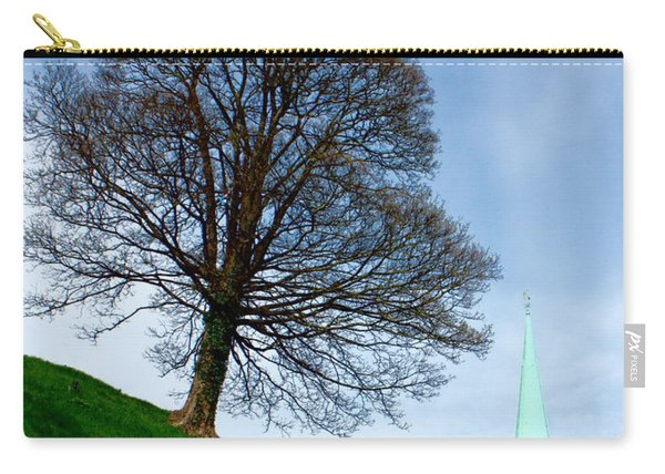 Tree On A Hill Carry-all Pouch