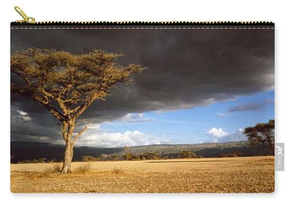 Tree W\storm Clouds Tanzania Carry-all Pouch