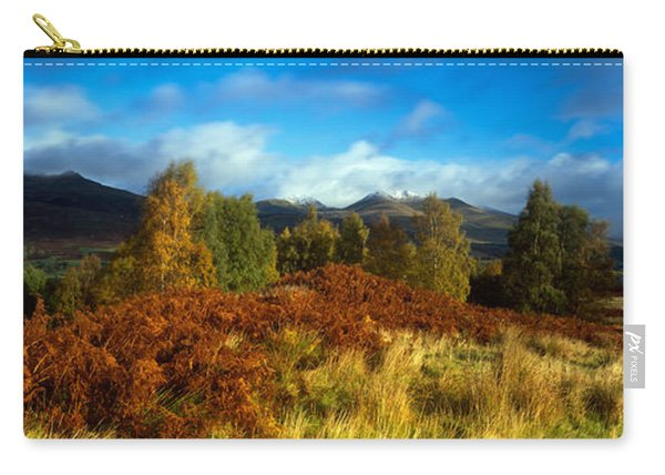 Trees In A Field, Loch Tay, Scotland Carry-all Pouch