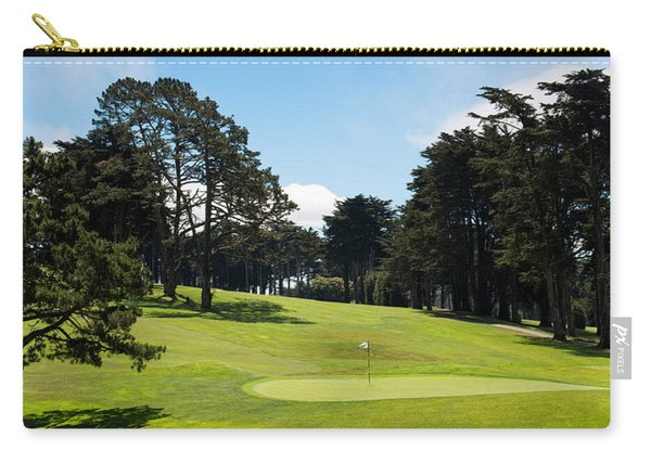 Trees In A Golf Course, Presidio Golf Carry-all Pouch