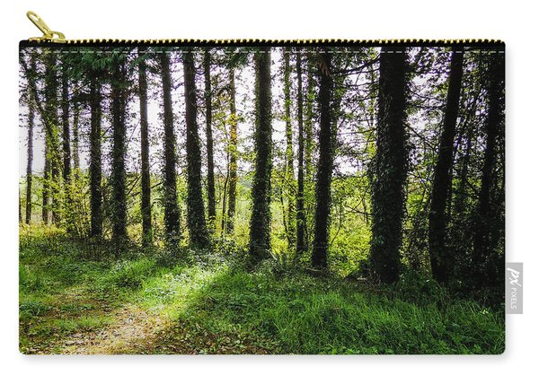 Trees On The Shannon Estuary Carry-all Pouch