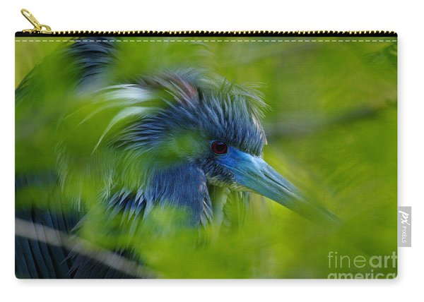 Tri-colored Heron Concealed    Carry-all Pouch