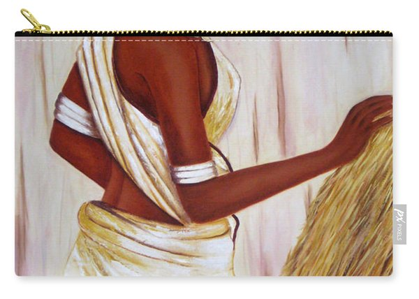 Tribal Girl Carry-all Pouch